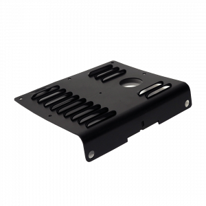 Wide Track Black Panel Vent Injection Mold