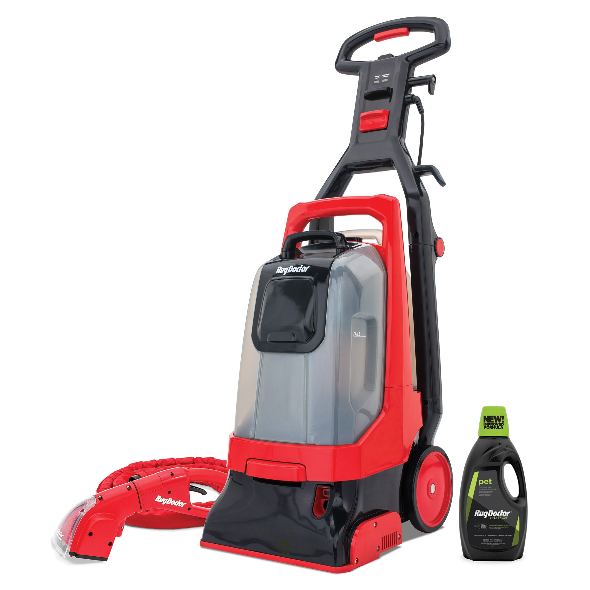 Pro-Deep Carpet Cleaner With Motorized Upholstery Tool