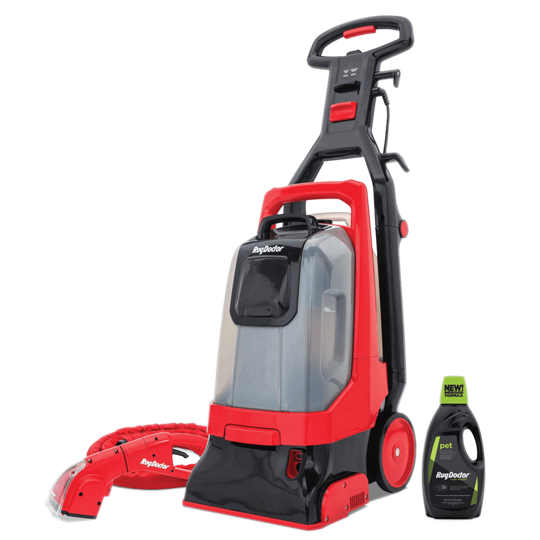 Pro Deep Carpet Cleaner With Motorized Upholstery Tool