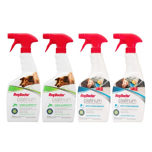 Rug Doctor Platinum Anytime Pack Upholstery Cleaning Solution