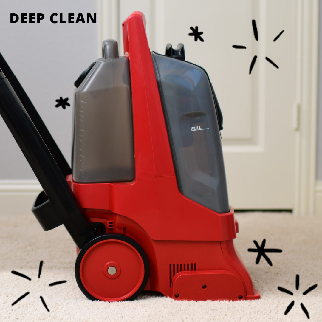 deep cleaning 3 1080x1080 - Deep Cleaning Carpet is as Easy as 1.2.3.