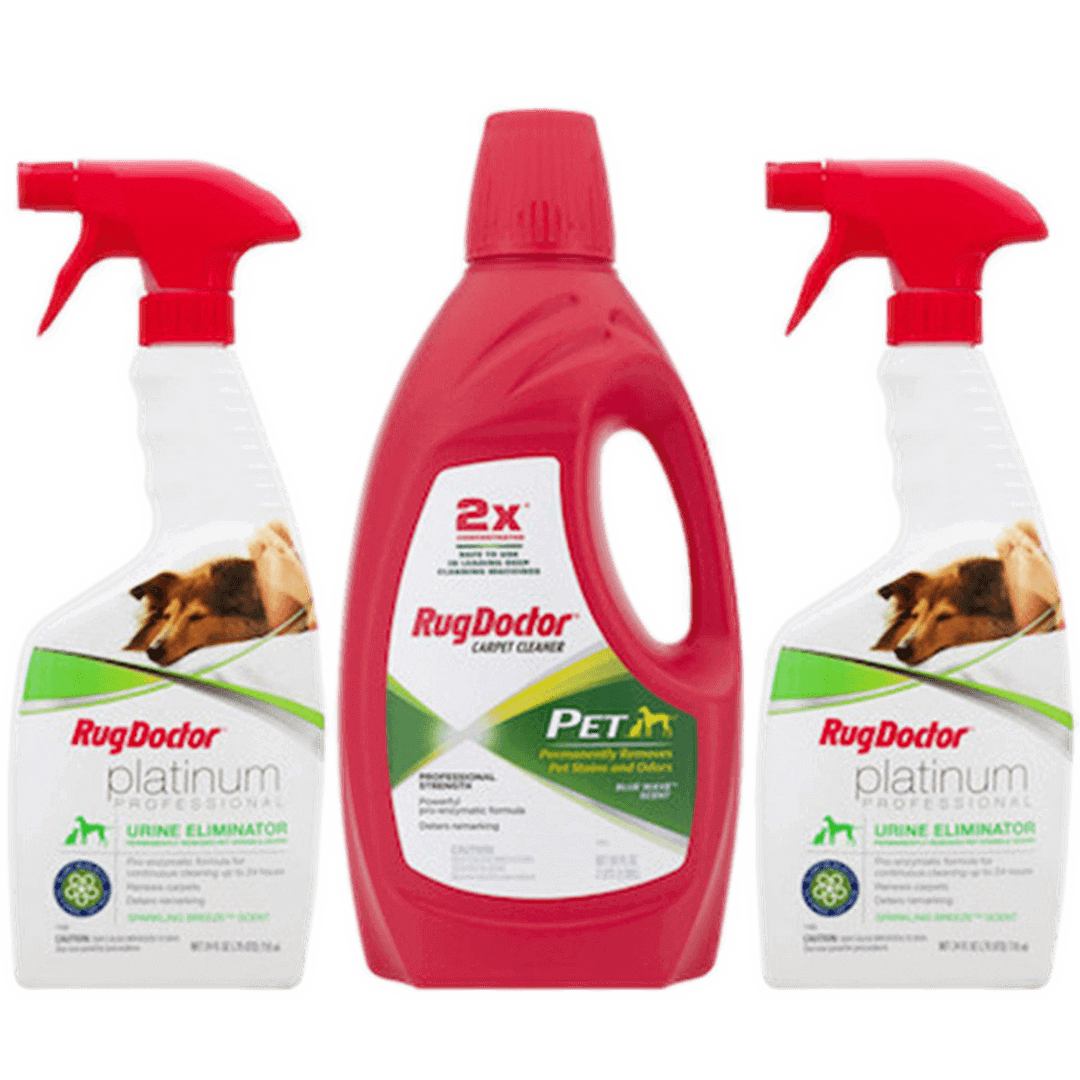 Pet Care Pack Carpet Cleaners