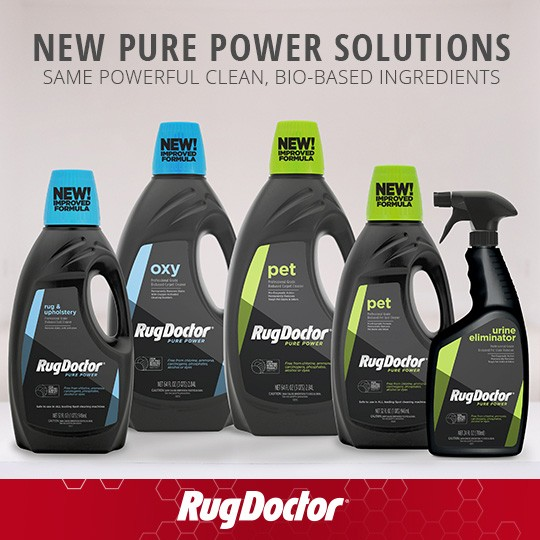 The Rug Doctor Pure Line