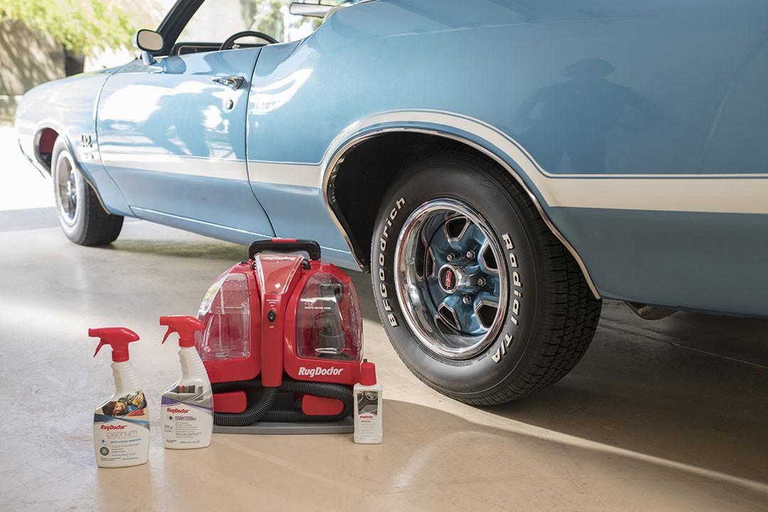 Automotive Carpet Cleaning