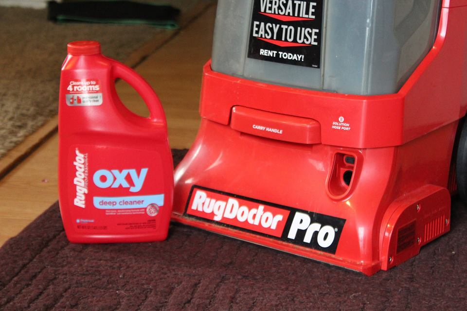 RugDoctor Pro with OXY deep clean