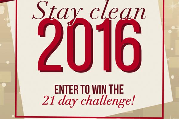 stay cleanin in 2016