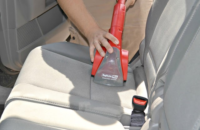 Using A Rug Doctor On Car Seats